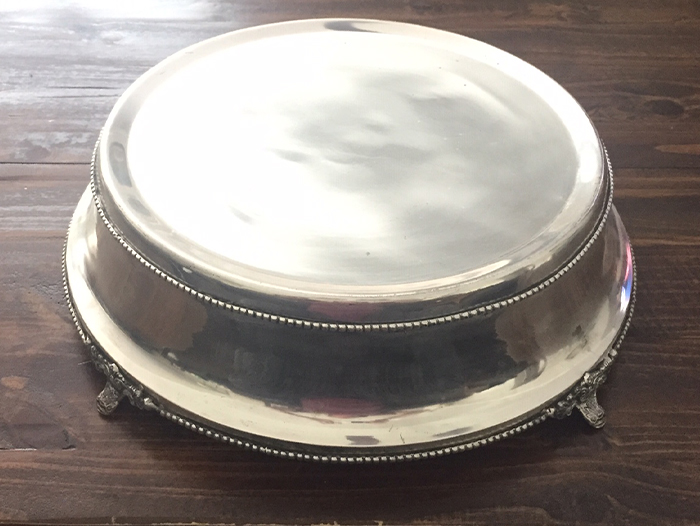 Cake Stands All About You Als, Silver Round Cake Plateau